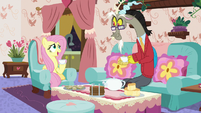 "Fluttershy more awkward ""uh-huh..."" S7E12"