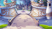 MLP The Movie background art - Canterlot entrance