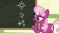 """Miss Cheerilee """"may I help you?"""" S9E12"""