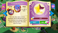 Parish Nandermane album page MLP mobile game