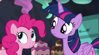 Pinkie -Um, no, they didn't- S5E11