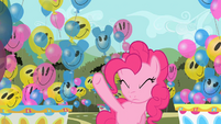Pinkie Pie hearing laughter S2E01
