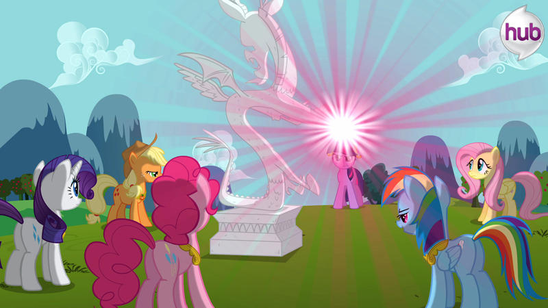 image promotional main ponies about to free discord s3e10 jpg my