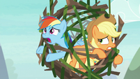 "Rainbow Dash ""I can't get out!"" S8E9"