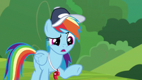 "Rainbow Dash ""why are you here?"" S9E15"