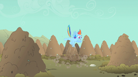 Rainbow Dash mane flow S1E19