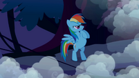 Rainbow Dash ready to fight S1E02