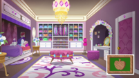Rarity's new dressing room completed EGDS29