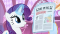 "Rarity ""ohhing"" at newspaper S2E23.png"