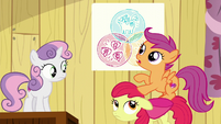 Scootaloo --Ponies with cutie mark problems are hard to find-- S6E4