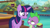 """Spike """"I hope this plan of yours works"""" S6E22"""