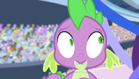 Spike tries counting to ten S4E24