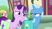 Starlight eager to spend time with Trixie S9E11