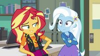 Sunset and Trixie best of friends EGFF