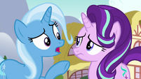 "Trixie ""you and those random ponies"" S7E2"