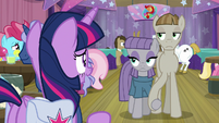 "Twilight ""I think Fluttershy was joking"" S9E16"