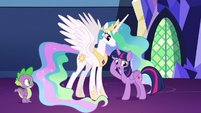 "Twilight Sparkle ""rethink, rethink, rethink!"" S7E1"