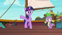 Twilight Sparkle --if you come on the boat with me-- S6E22