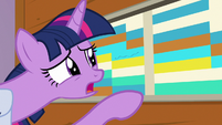 Twilight Sparkle -we don't have anything to do- S7E22