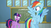 Twilight Sparkle continuing the lesson S6E24
