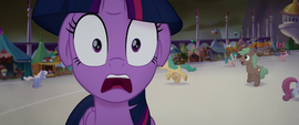 Twilight Sparkle gasping in horror MLPTM