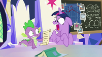 "Twilight Sparkle shocked ""what?!"" S9E4"