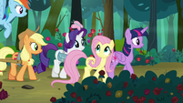 Twilight and friends continue through the forest S8E13