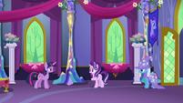Twilight y Trixie frente a frente. Starlight confundida T6E6