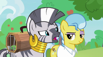 "Zecora ""help those two get along"" S9E18"