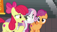 "Apple Bloom ""Spur's so worried about"" S9E22"