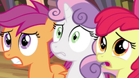 CMC looking nervious S4E15