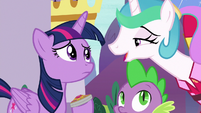"Celestia ""preferably dawn and dusk"" S9E13"