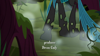 Chrysalis walking through the Everfree Forest S8E13