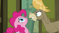 Cranky Doodle furious at Pinkie for ruining scrapbook S2E18.png
