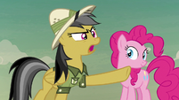 "Daring Do ""to the pyramid!"" S7E18"