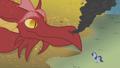 Dragon looking at Rarity S1E07.png