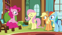 "Fluttershy ""in dire need of a safe place"" S7E5"