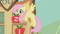 Fluttershy after the bronco buck S01E13.png
