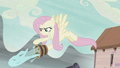 Fluttershy throwing water on Starlight S5E2.png