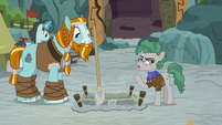 "Fossil ""we're trying to carefully preserve"" S8E21"