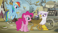 Gilda -nothing's better than gold to a griffon- S5E8