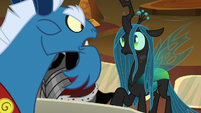 "Grogar ""taking my bell would defeat me!"" S9E1"