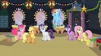Main ponies S2E11 Shocked