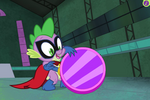 PPG ending - Spike with repaired reflector