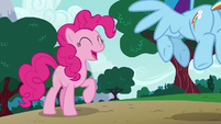 Pinkie Pie --it's been pretty funny!-- S6E15