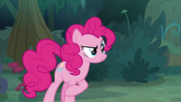Pinkie answers Twilight's quiz question S8E13