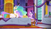 "Princess Celestia ""I enjoy this part"" S7E10"