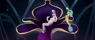 Queen Novo tired of seeing seashells MLPTM
