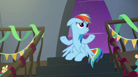Rainbow --maybe some of the Wonderbolts-- S6E7