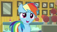 "Rainbow Dash ""I figured you weren't"" S9E6"